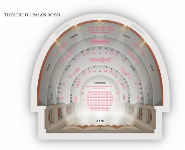 Aladin - Theatre Du Palais Royal from 7 October 2017 to 22 February 2020