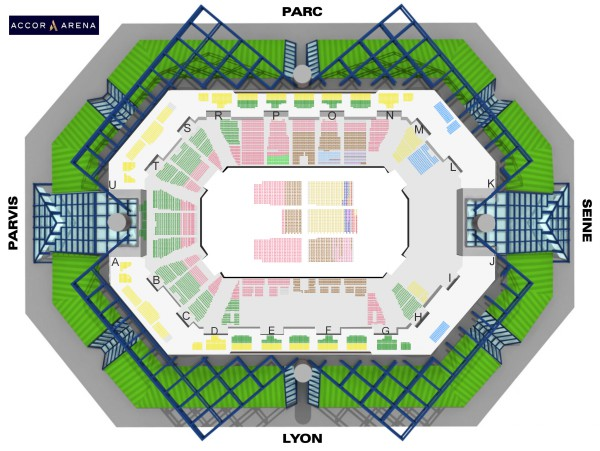 Elton John - Accorhotels Arena from 10 to 13 October 2020