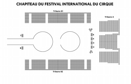 18e Festival International Du Cirque - Chapiteau Du Festival International Du Cirque du 14 au 24 novembre 2019