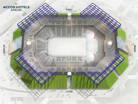 Angele - Accorhotels Arena from 18 to 20 February 2020