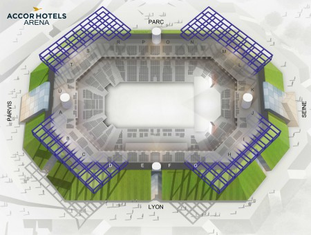 Jonas Brothers - Accorhotels Arena the 22 February 2020