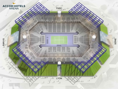Rolex Paris Masters - Accorhotels Arena from 26 October to 3 November 2019