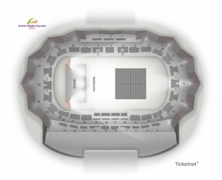 Les Annees 80 A Lievin - Arena Stade Couvert from 10 April 2020 to 9 October 2021