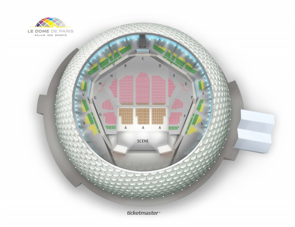 One Night Of Queen - Dome De Paris - Palais Des Sports du 5 octobre 2021 au 5 janvier 2022
