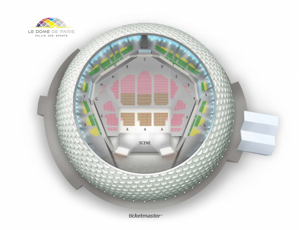 Veronic Dicaire - Dome De Paris - Palais Des Sports from 7 November 2020 to 23 March 2021