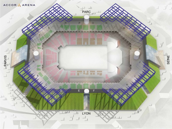 Pnl - Accorhotels Arena from 5 to 18 July 2020