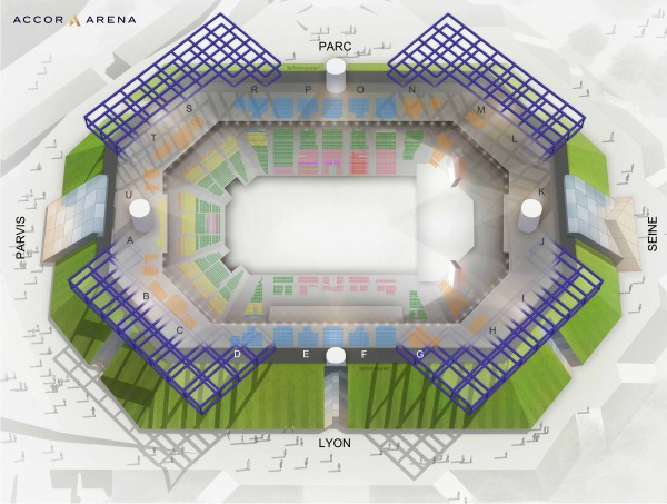 Dua Lipa - Accor Arena from 4 May 2020 to 30 September 2021