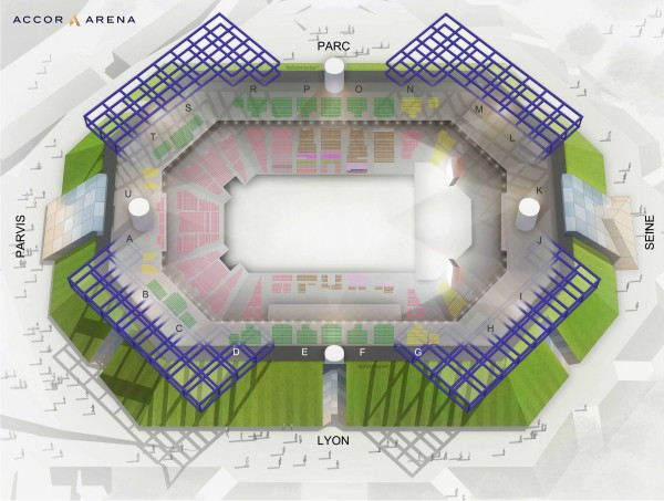 Aerosmith - Accor Arena du 30 juin 2020 au 14 juin 2021