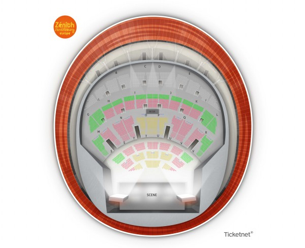 One Night Of Queen - Zenith Europe Strasbourg from 30 January 2021 to 11 January 2022