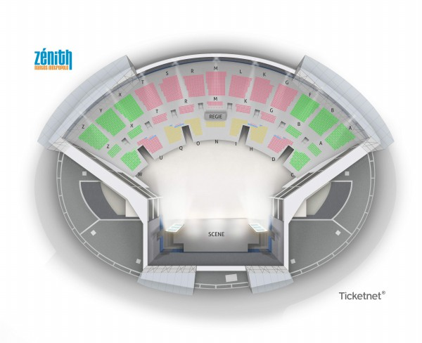 Woodkid - Zenith Nantes Metropole from 30 January to 22 October 2021