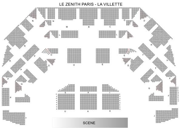 Simply Red - Zenith Paris - La Villette du 13 novembre 2020 au 29 octobre 2021