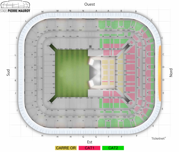 Vitaa & Slimane - Stade Pierre Mauroy the 27 March 2021