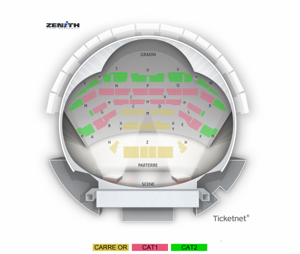Veronic Dicaire - Zenith De Caen from 3 April 2021 to 9 March 2022