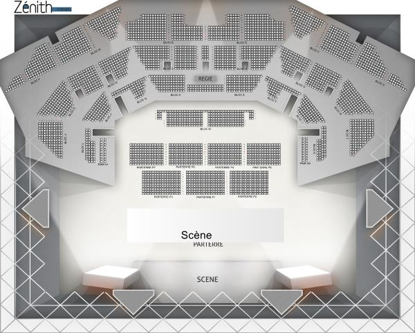 Veronic Dicaire - Zenith De Pau from 6 March 2021 to 17 March 2022