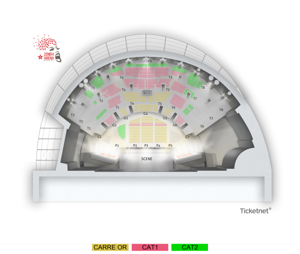 Miraculous - Zenith Arena Lille from 28 March 2021 to 19 January 2022