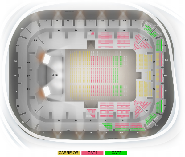 Gladiator Live - Arena Du Pays D'aix the 5 March 2022