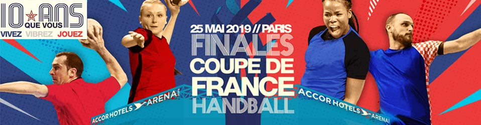 FINALE DE LA COUPE DE FRANCE DE HANDBALL
