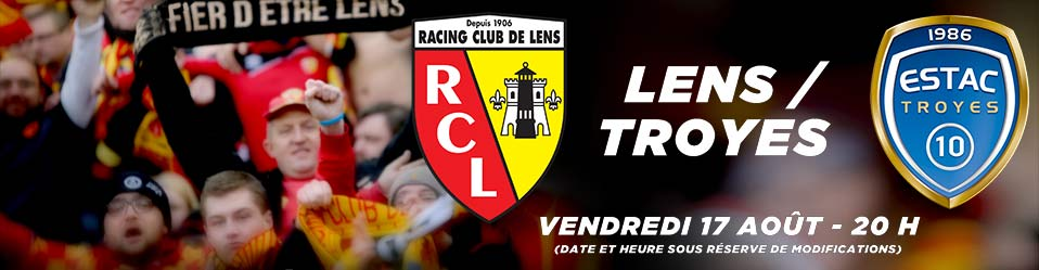 RC LENS / ESTAC TROYES