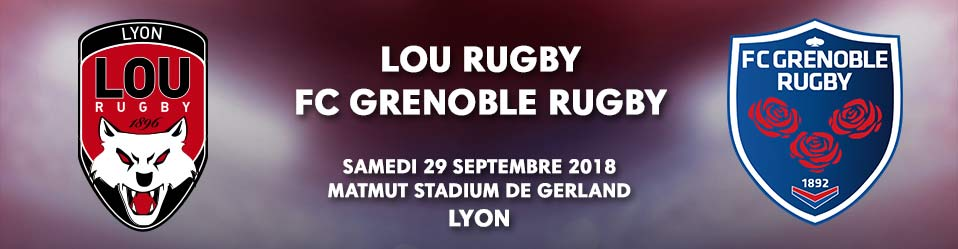 LOU RUGBY / FC GRENOBLE RUGBY
