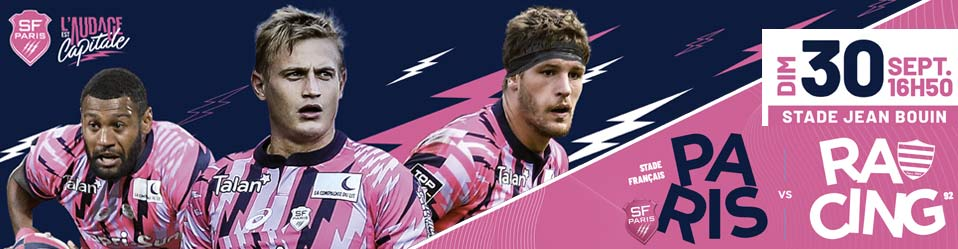 STADE FRANÇAIS PARIS / RACING 92