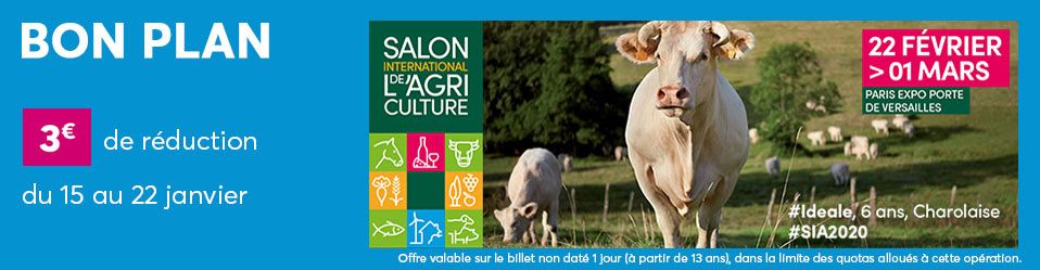 Good Deal : Salon de l'Agriculture