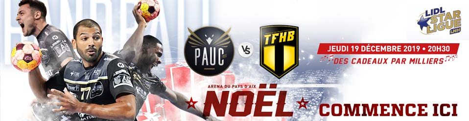 PAUC HANDBALL / TREMBLAY